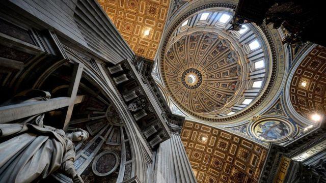 Cклепіння Собору Святого Петра у Ватикані