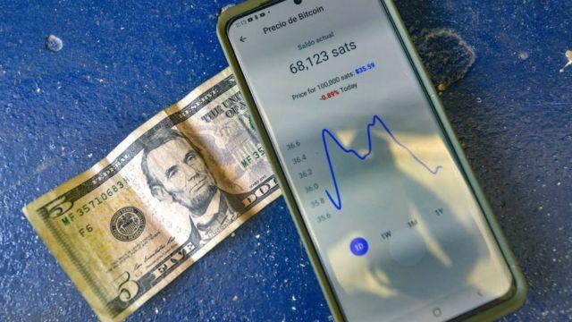 Celular y dolar