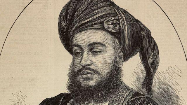 السلطان برغش بن سعيد والد السلطان خالد