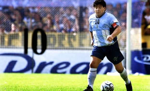 Diego Maradona sanadki 2001-dii