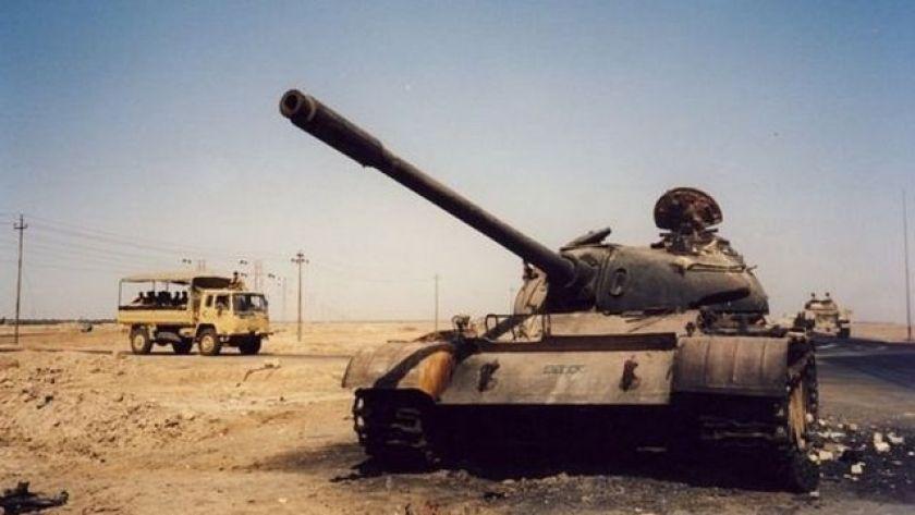 Tank in Iraq in 2003