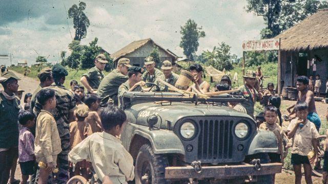 ویتنام جنگ سنہ 1967 کا منظر