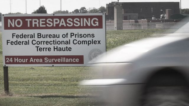 Indiana prison where Lisa Montgomery is being held