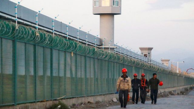 One of the concentration camps in China