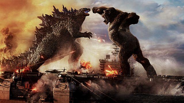 Godzilla faces Hong