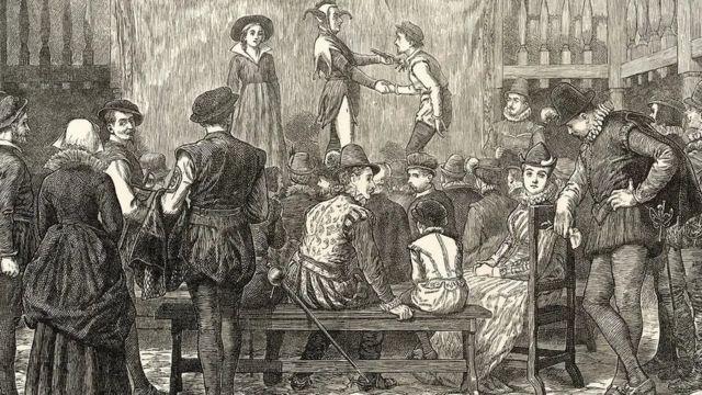 تناول العديد من الكتاب المسرحيين في القرن الـ 17 مسألة الجنون