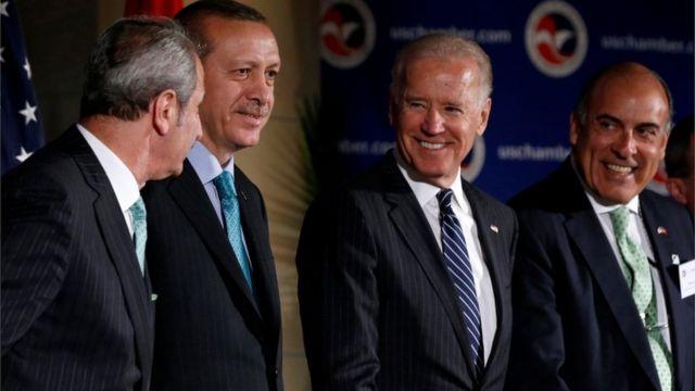 امریکی صدر اور رجب طیب اردوغان