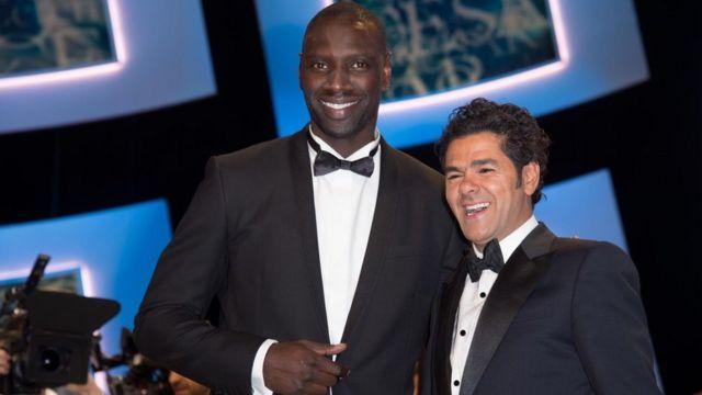 Omar Sy et son ami d'enfance Jamel Debouze