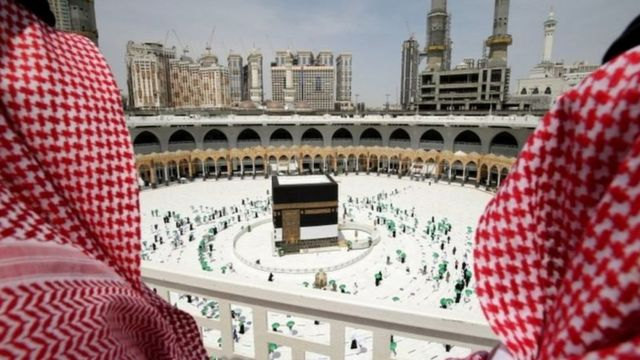 View of the Kaaba