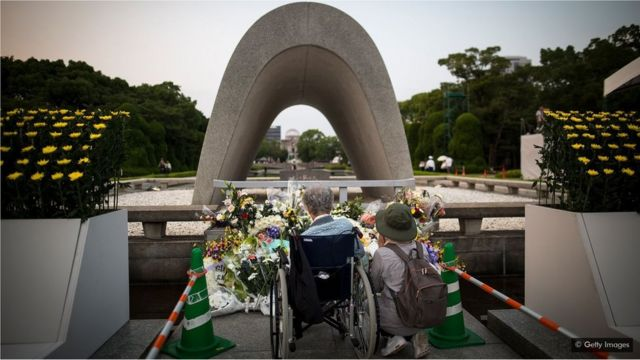 Every year people in Hiroshima commemorate the bombing of their city which claimed more than 135,000 lives (Credit: Getty Images)