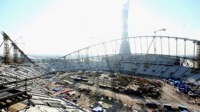 Qatar imported hundreds of thousands of construction workers for the 2022 World Cup