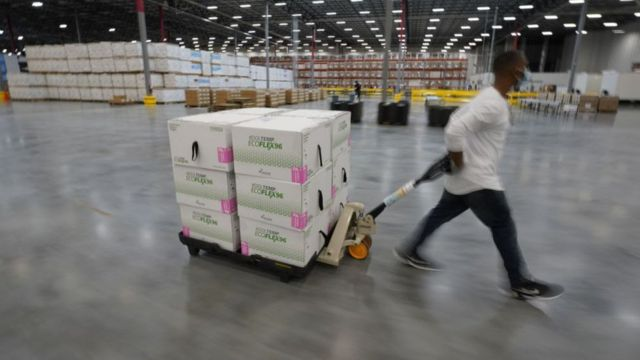 Moderna Vaccine Boxes are on the way - December 2020