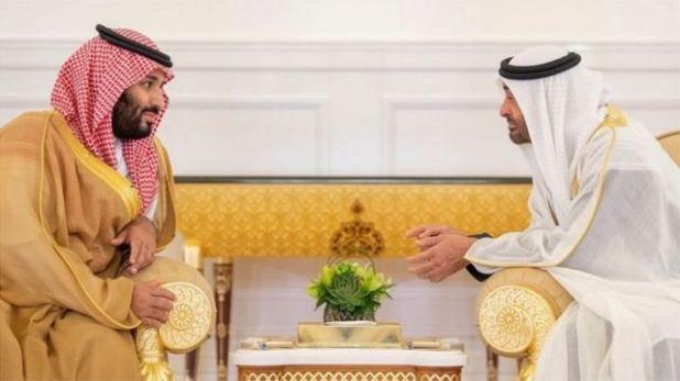 محمد بن سلمان، ومحمد بن زايد