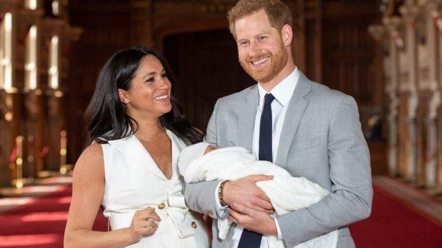 آرتشي، الطفل الأول للزوجين، ولد في مايو/أيار 2019