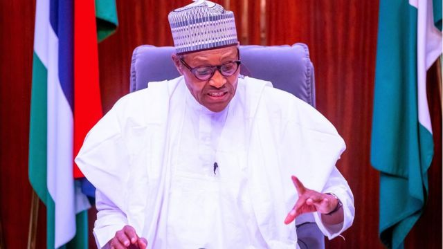 President Muhammadu Buhari speech today