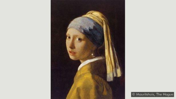 'Moça Com Brinco de Pérola', de Vermeer
