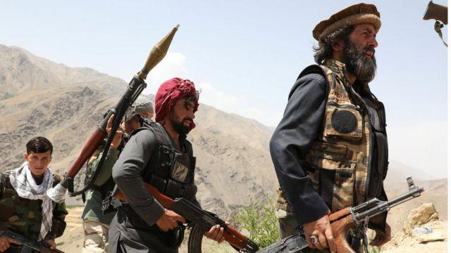 Taliban karşıtı silahlı gruplar