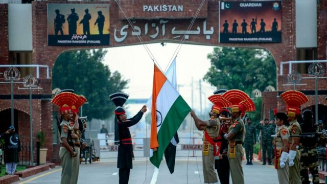 انڈیا، پاکستان، سرحد