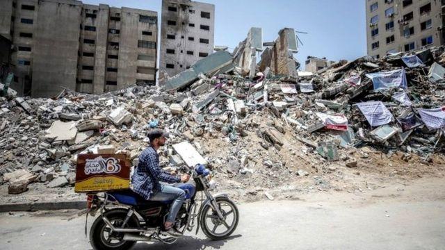 The devastation in Gaza