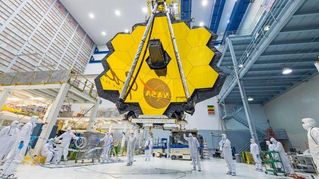 Telescópio espacial James Webb