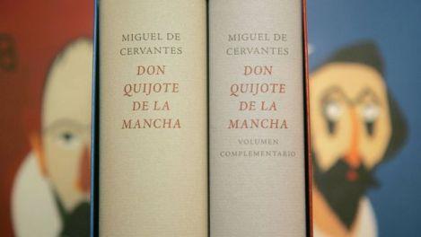 Imagem de uma edição de Dom Quixote de la Mancha