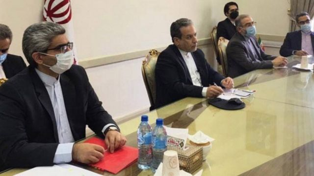 Side of the meetings in Tehran
