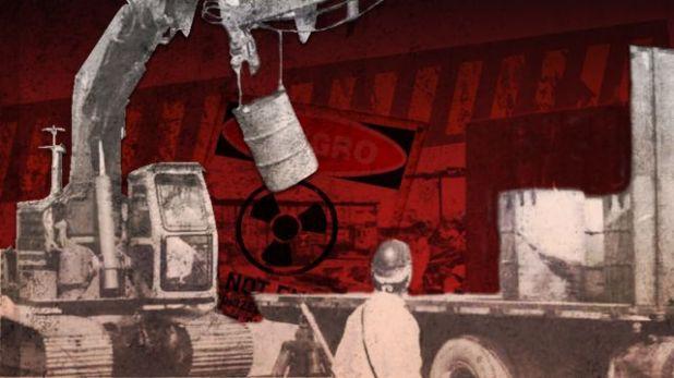 La búsqueda de desechos radiactivos