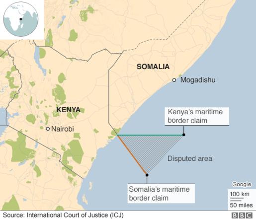 Kenya Somalia border