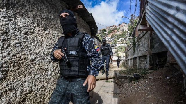 Policía en Venezuela