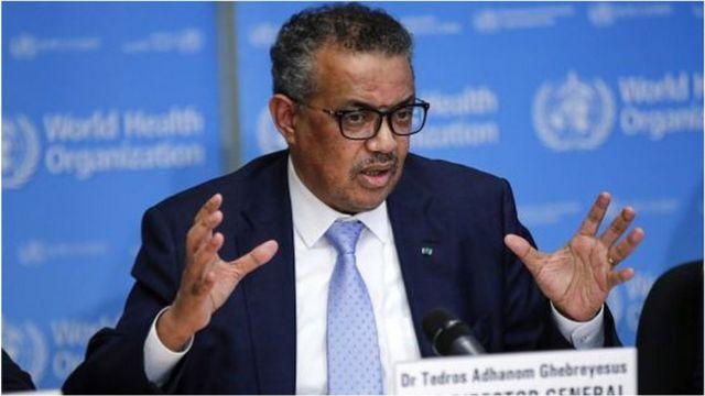 2017年谭德塞成为世界卫生组织第一个非洲籍总干事。