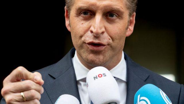 Ministro de Sanidad de Países Bajos, Hugo de Jonge.