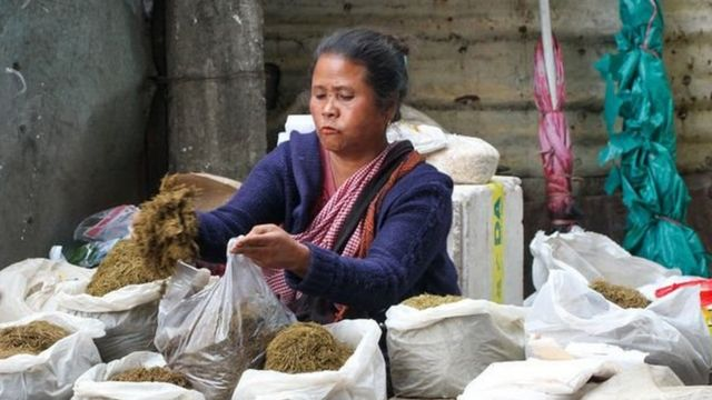 Women dominate commercial activity in Shillong Market