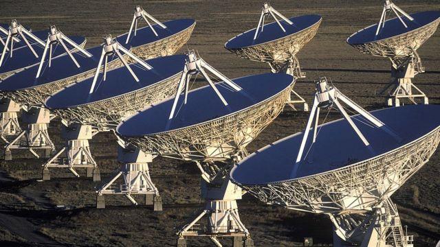 Antenas em Socorro, Novo Mexico, EUA