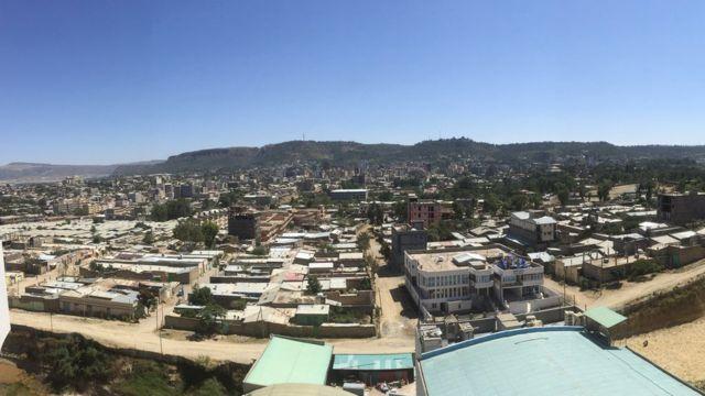 টিগ্রে শহরের রাজধানী মেকেলে