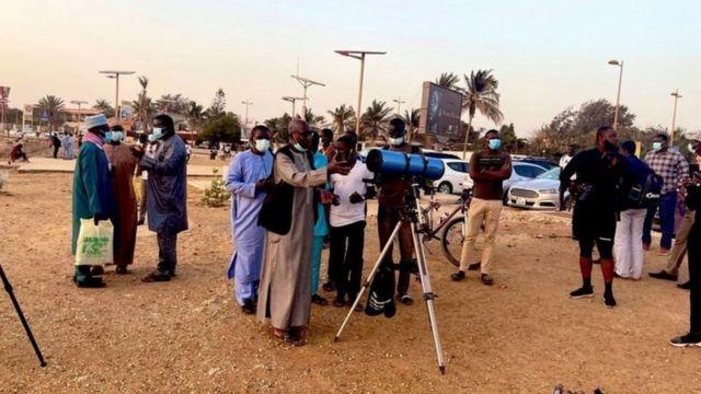 Mambobin kwamitin ganin wata a birnin Dakar na Senegal