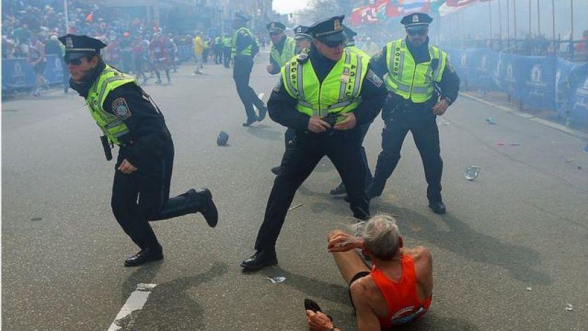 Bomb attack in Boston (USA)