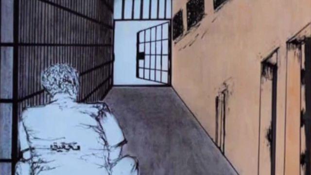 الخروج من الزنزانة.