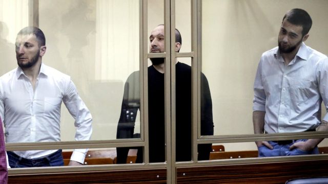 Russia's North Caucasus Military District Court convicts five men on terrorism charges