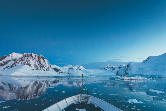 Ceu da Antártida