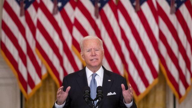 Joe Biden: Los estadounidenses no deben morir en una guerra que los afganos no están dispuestos a luchar por sí mismos