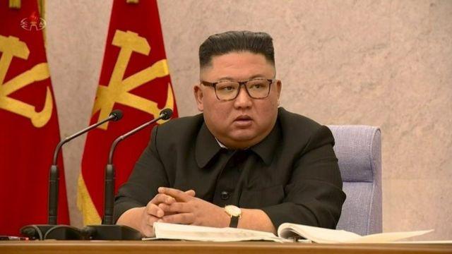 صورة لزعيم كوريا الشمالية تعود إلى فبراير/ شباط من هذا العام
