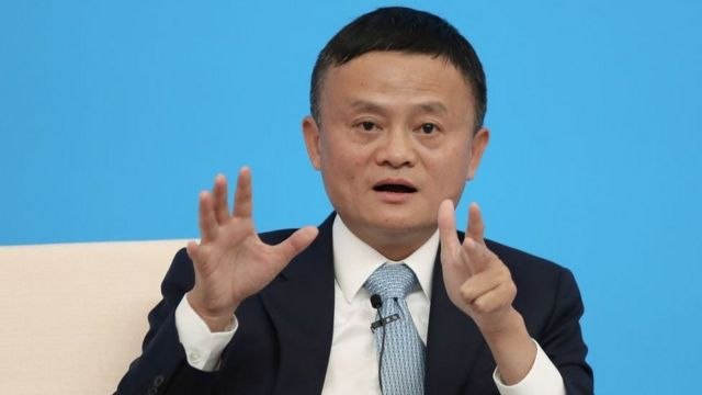 Founder of the Chinese company Alibaba