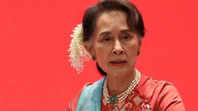 Former State Counselor Aung San Suu Kyi