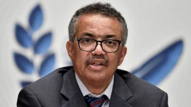 مدير منظمة الصحة العالمية، الإثيوبي تيدروس أدهانوم غيبريسوس