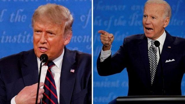 Дональд Трамп і Джо Байден