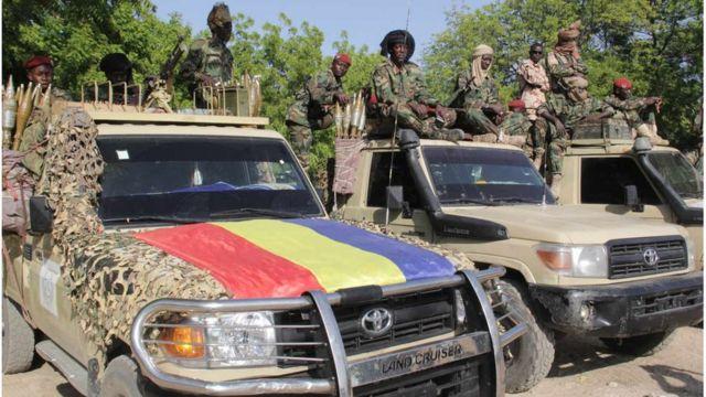 L'armée tchadienne est présente dans plusieurs théâtre d'opération du Sahel