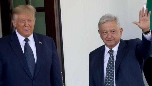 AMLO y Trump: la ambigua relación de los presidentes de México y EE.UU. y qué dice de ellos su primer encuentro en la Casa Blanca - BBC News Mundo
