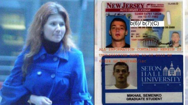 В 2009-м офицеры ФБР узнали, что в США приехали еще двое возможных российских разведчиков, Михаил Семенко и Анна Чапман