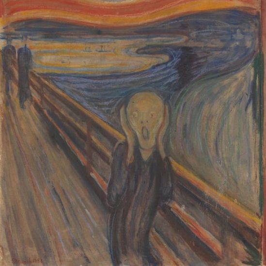 """Scream"" - one of the most famous paintings in the history of world art"