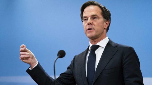 Mark Rutte resigned Prime Minister